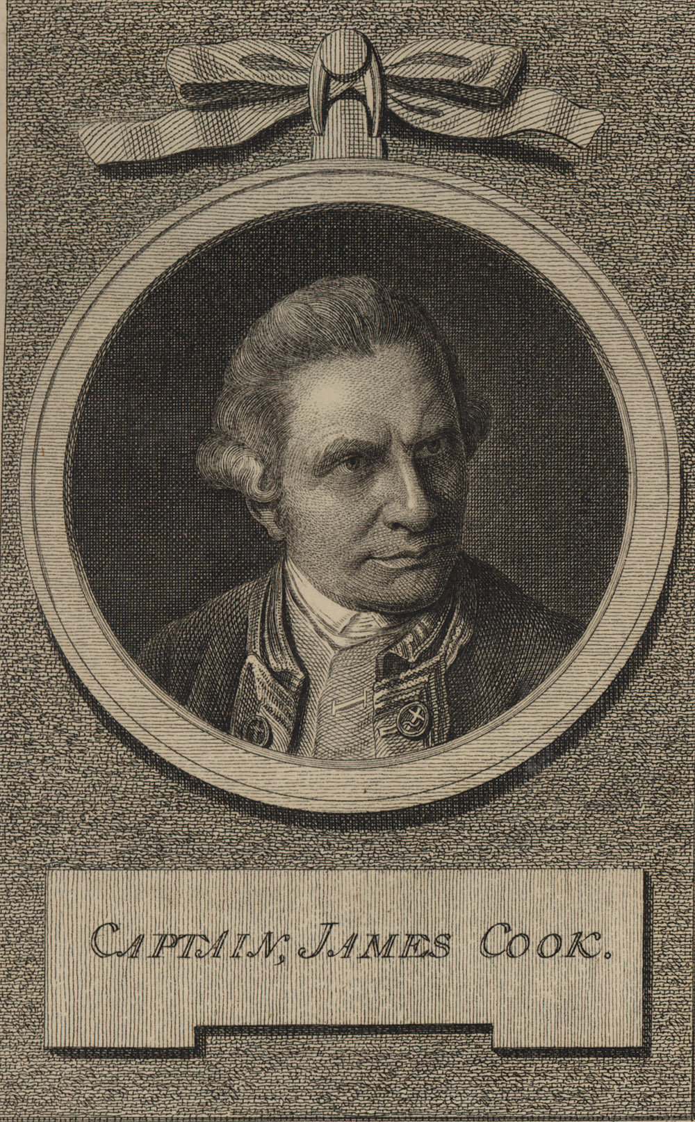 Portrait of James Cook,  Image number:SIL14-C5-06a