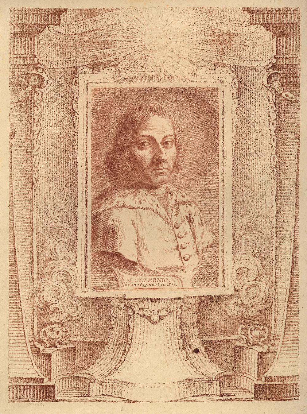 Portrait of Nicolaus Copernicus,  Image number:SIL14-C5-09a