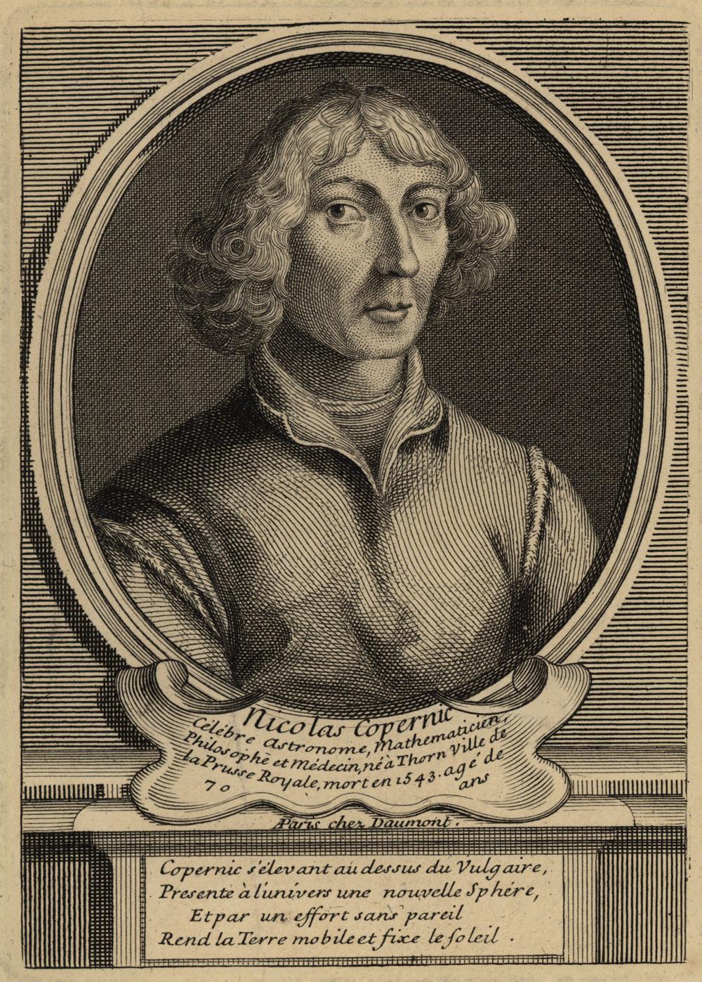 Portrait of Nicolaus Copernicus,  Image number:SIL14-C5-12a