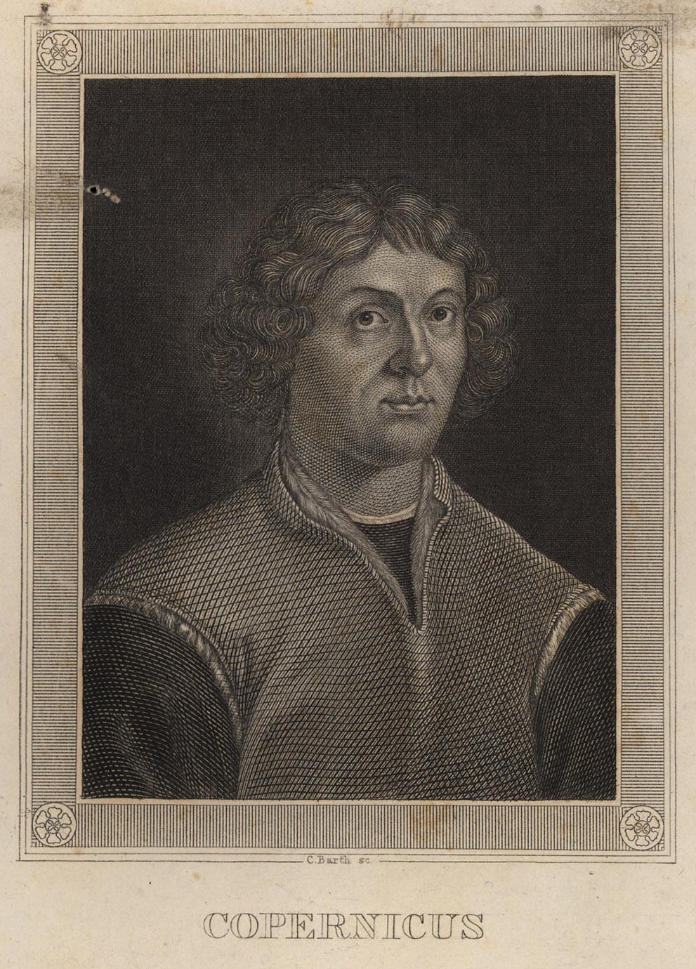 Portrait of Nicolaus Copernicus,  Image number:SIL14-C5-13a