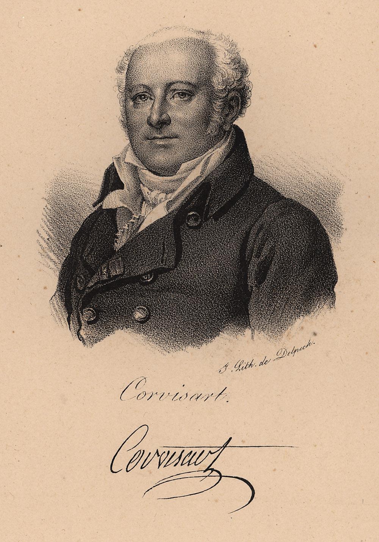 Portrait of Baron Jean Nicolas Corvisart des Marets,  Image number:SIL14-C5-17a