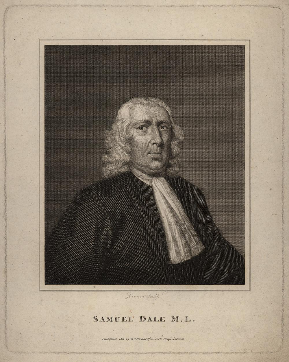 Portrait of Samuel Dale,  Image number:SIL14-D1-02a