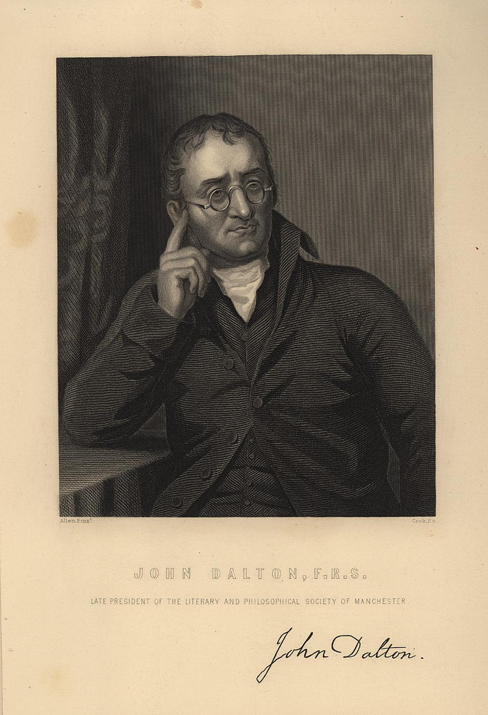 Portrait of John Dalton,  Image number:SIL14-D1-03a