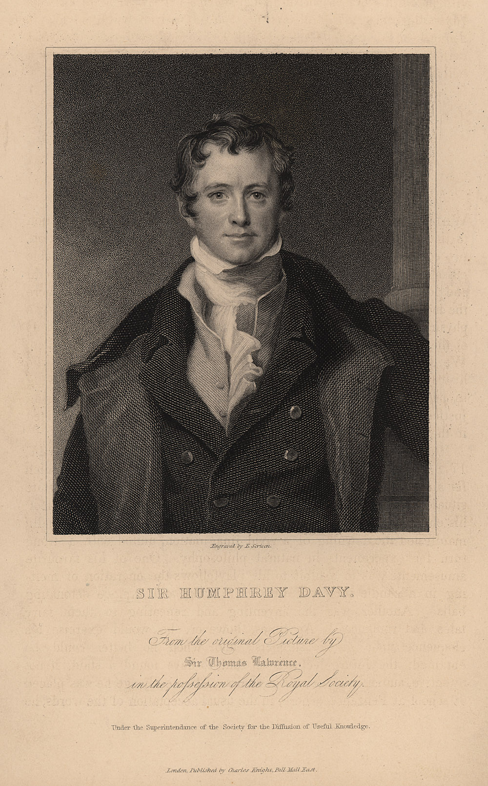 Portrait of Humphry Davy,  Image number:SIL14-D2-03a