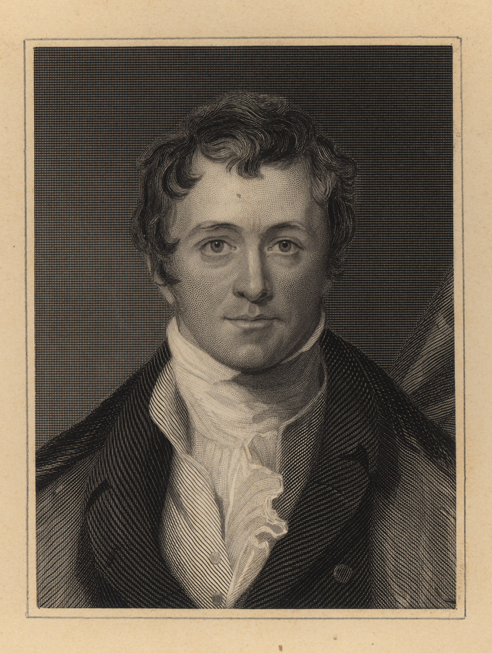 Portrait of Humphry Davy,  Image number:SIL14-D2-05a