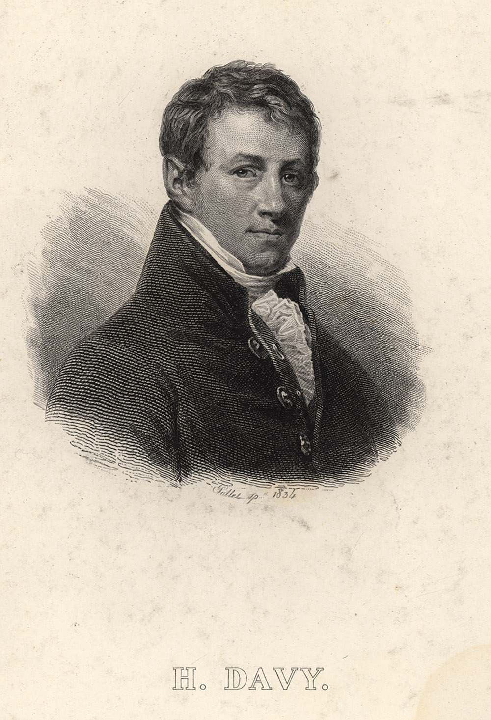 Portrait of Humphry Davy,  Image number:SIL14-D2-11a