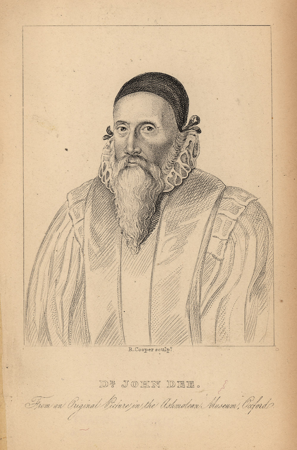 Portrait of John Dee,  Image number:SIL14-D2-12a