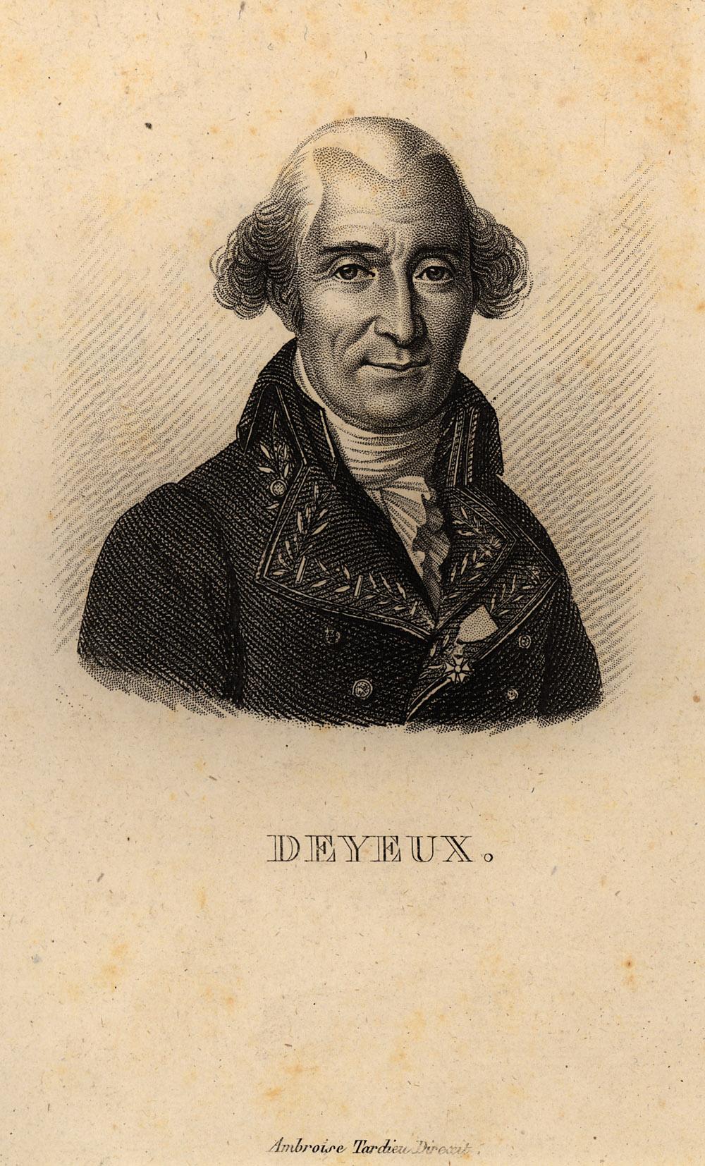 Portrait of Nicolas Deyeux,  Image number:SIL14-D3-08a