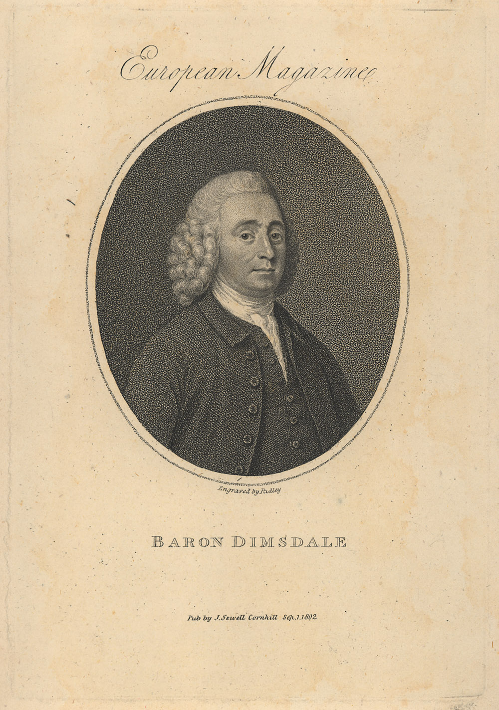 Portrait of Thomas Dimsdale,  Image number:SIL14-D4-09a