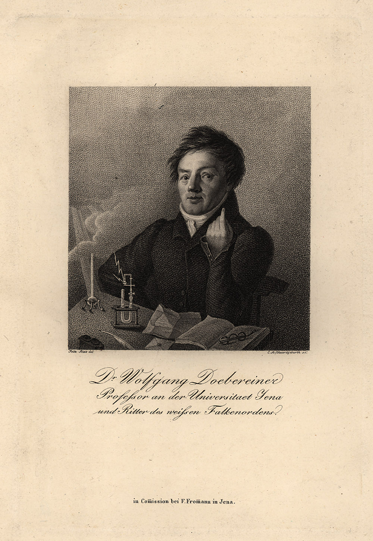 Portrait of Johann Wolfgang Doebereiner,  Image number:SIL14-D4-11a