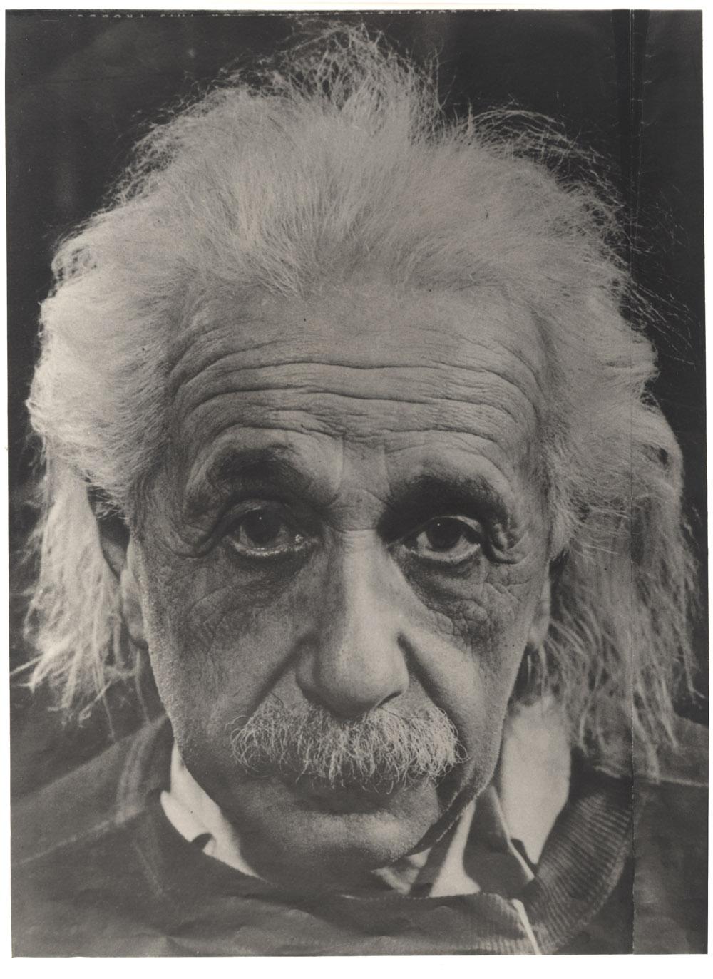 Portrait of Albert Einstein,  Image number:SIL14-E1-07a