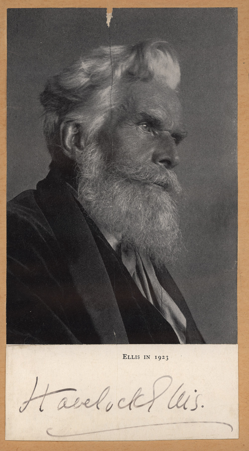 Portrait of Havelock Ellis,  Image number:SIL14-E1-12a
