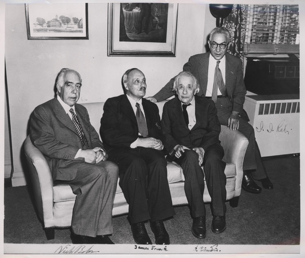 Portrait of Niels Henrik David Bohr and Others,  Image number:SIL14-E1-22a