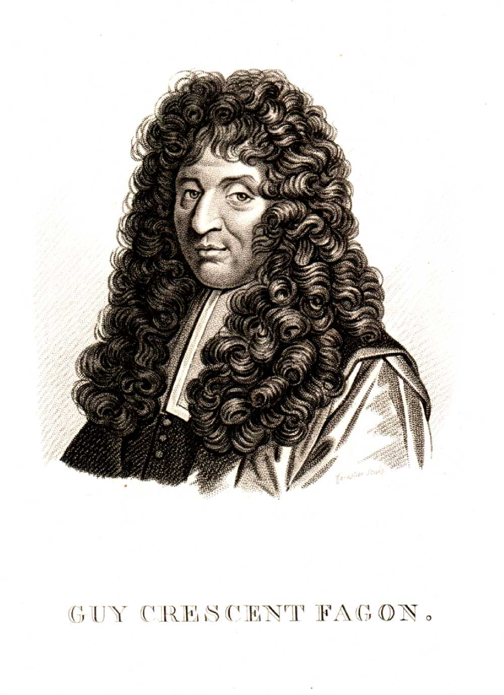 Portrait of Guy Crescent Fagon,  Image number:SIL14-F001-01a