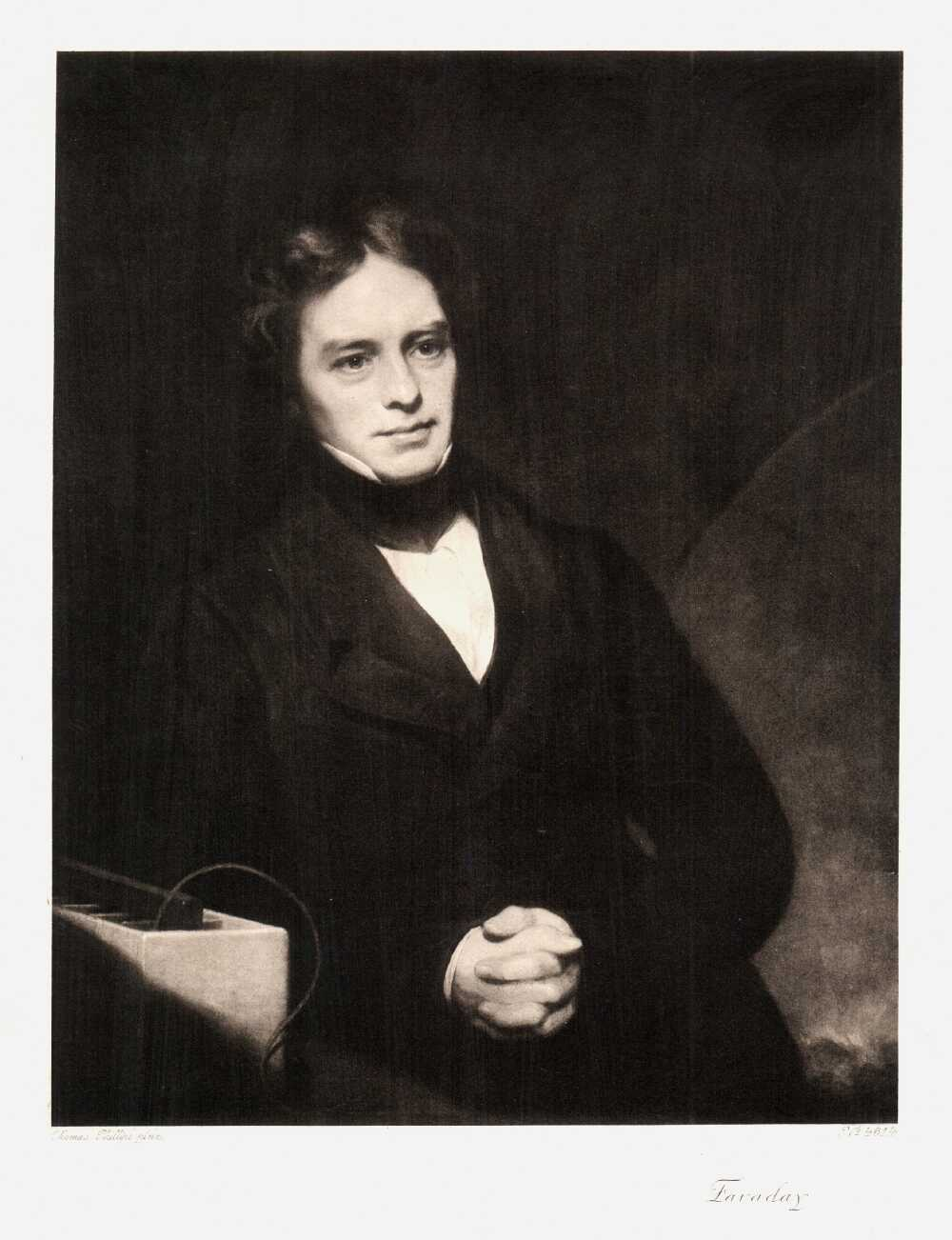 Portrait of Michael Faraday,  Image number:SIL14-F001-06a