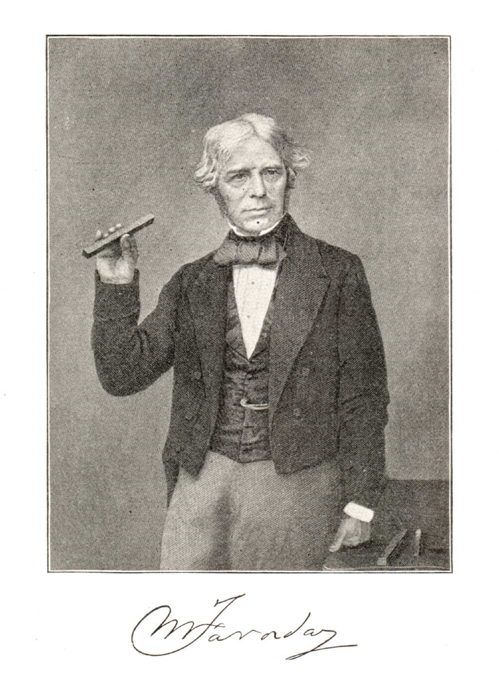 Portrait of Michael Faraday,  Image number:SIL14-F001-07a
