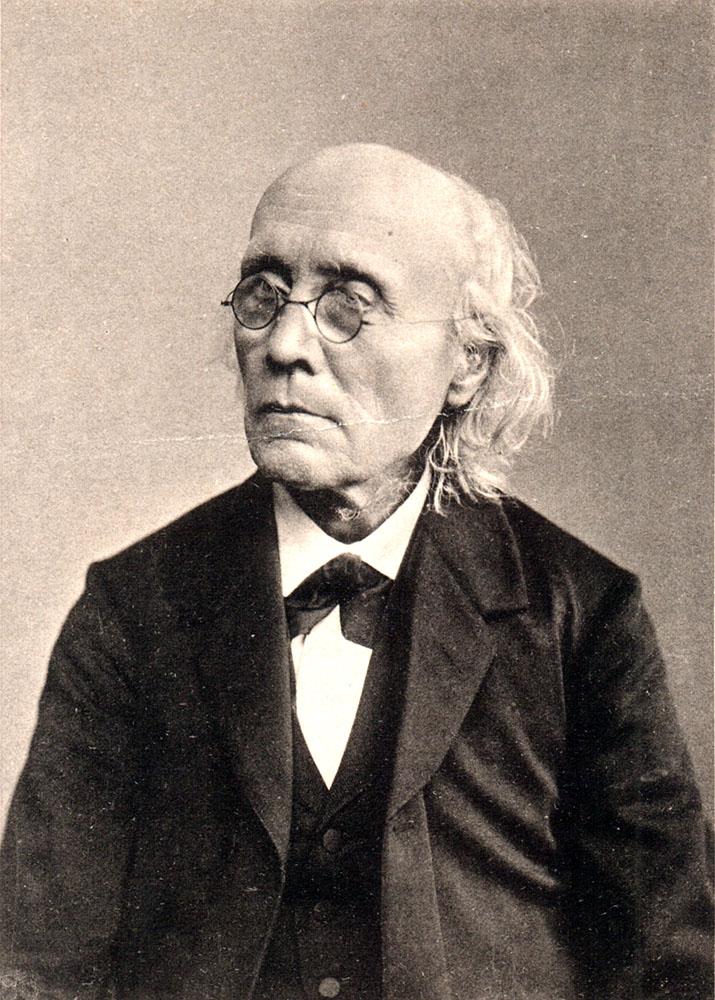 Portrait of Gustav Theodor Fechner,  Image number:SIL14-F002-01a