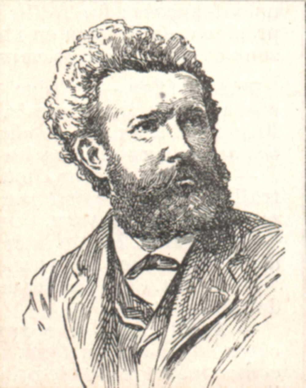Portrait of Camille Flammarion,  Image number:SIL14-F003-02a