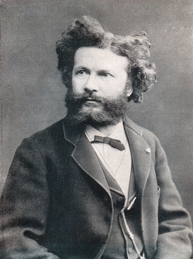 Portrait of Camille Flammarion,  Image number:SIL14-F003-03a