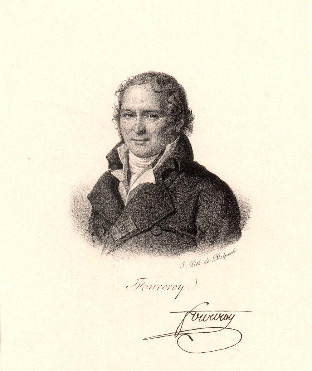 Portrait of Antoine-François de Fourcroy,  Image number:SIL14-F004-02a