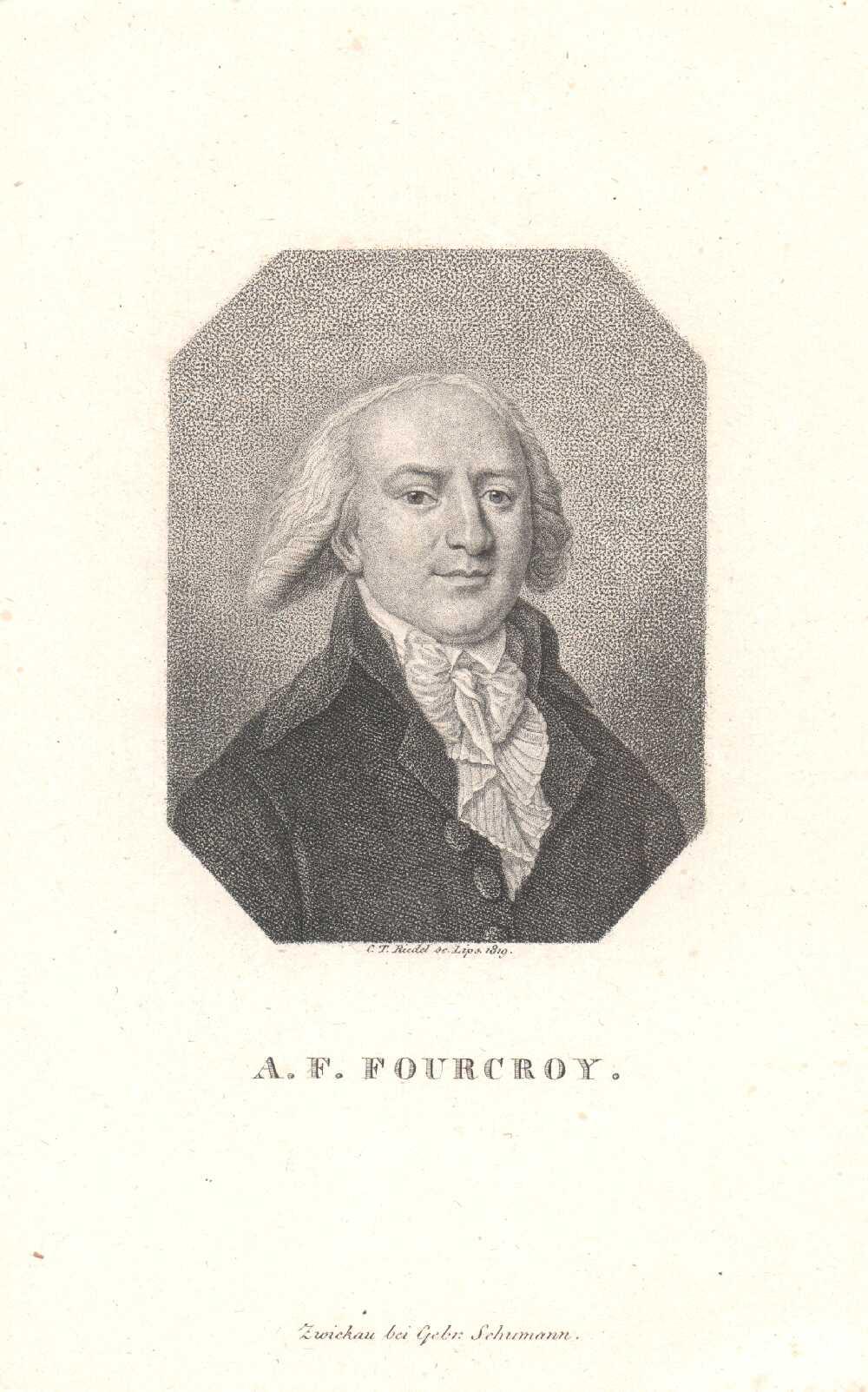 Portrait of Antoine-François de Fourcroy,  Image number:SIL14-F004-04a
