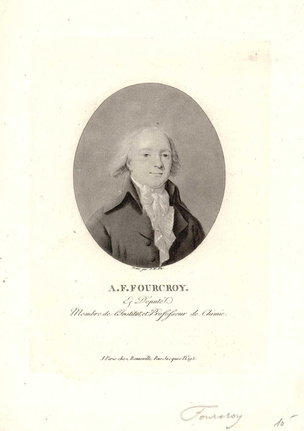 Portrait of Antoine-François de Fourcroy,  Image number:SIL14-F004-05a