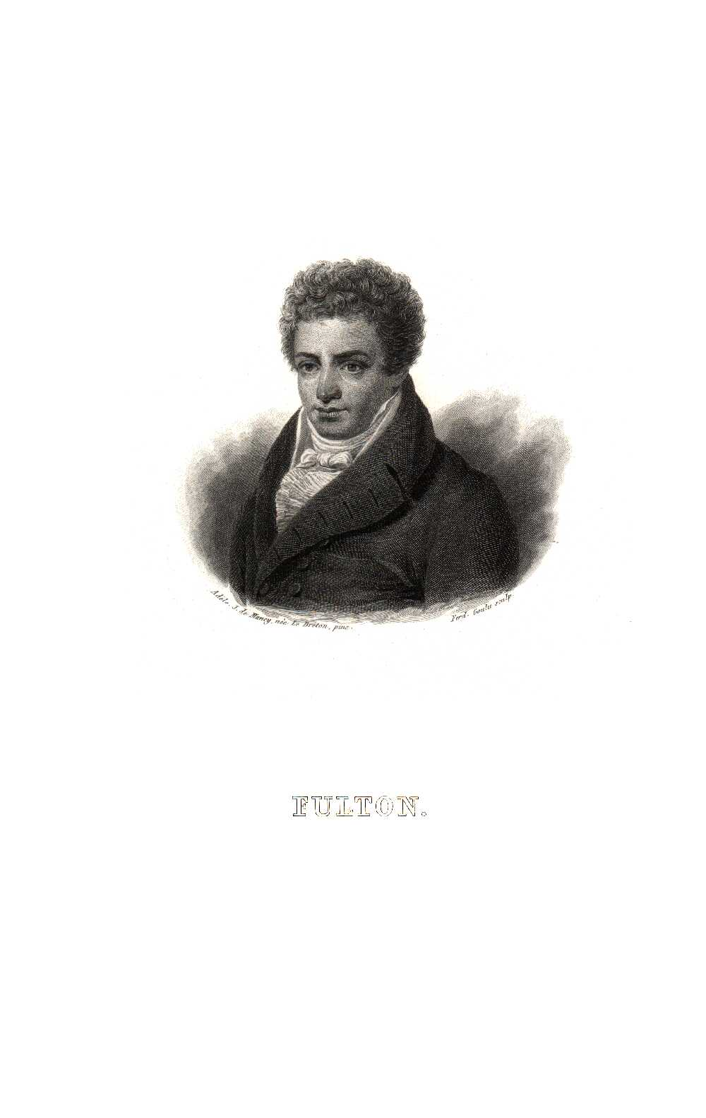 Portrait of Robert Fulton,  Image number:SIL14-F006-02a