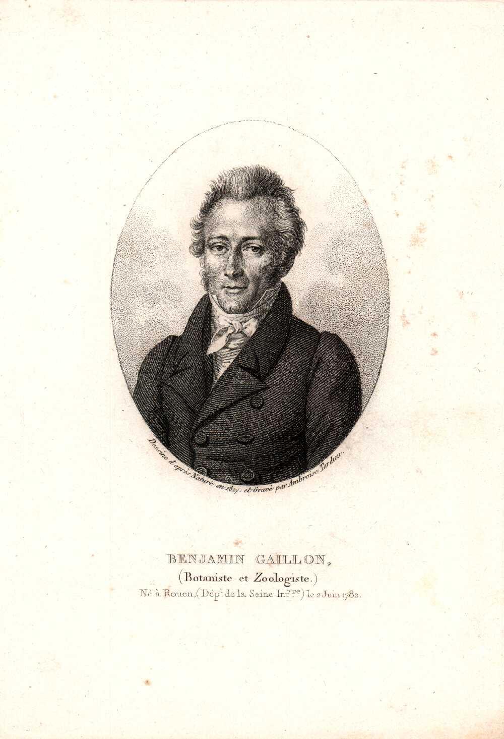 Portrait of François-Benjamin Gaillon,  Image number:SIL14-G001-03a