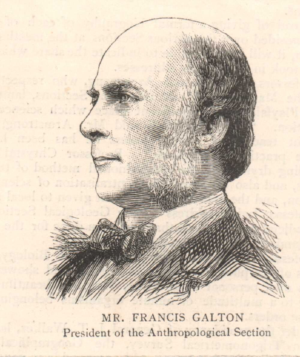 Portrait of Francis Galton,  Image number:SIL14-G001-05a