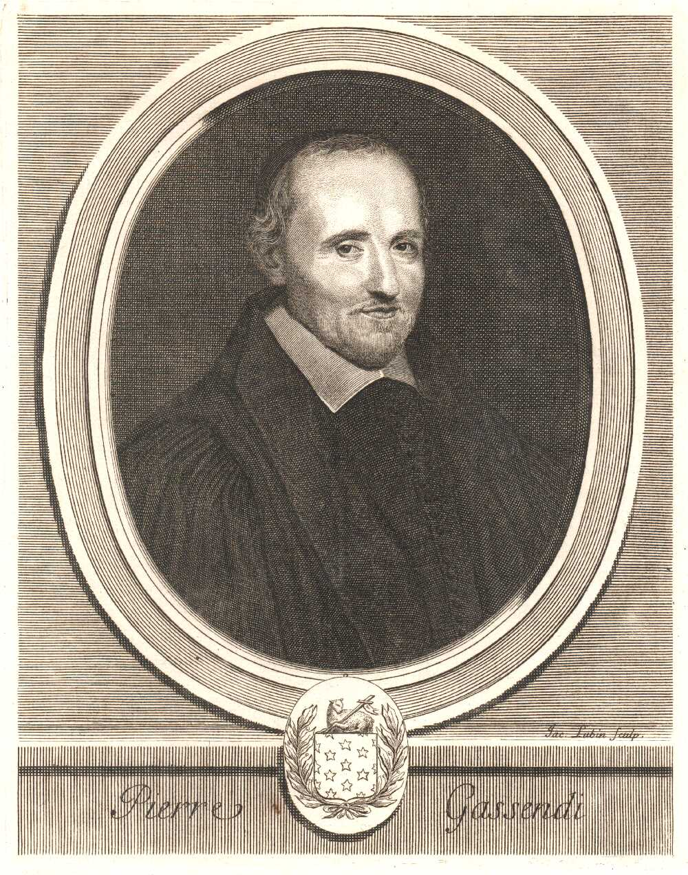 Portrait of Pierre Gassendi,  Image number:SIL14-G001-06a