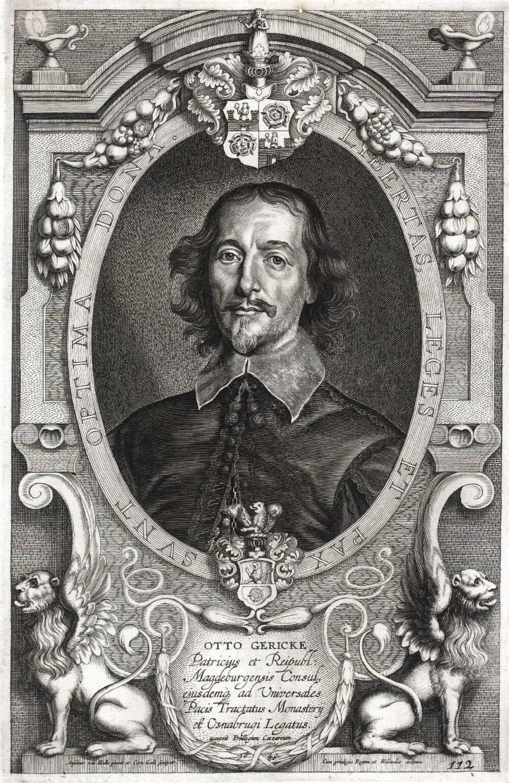 Portrait of Otto von Guericke,  Image number:SIL14-G004-07a