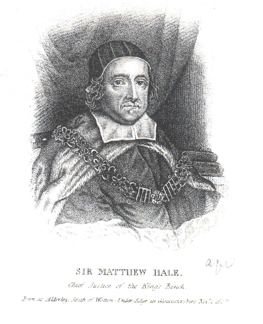 Portrait of Matthew Hale,  Image number:SIL14-H002-01a
