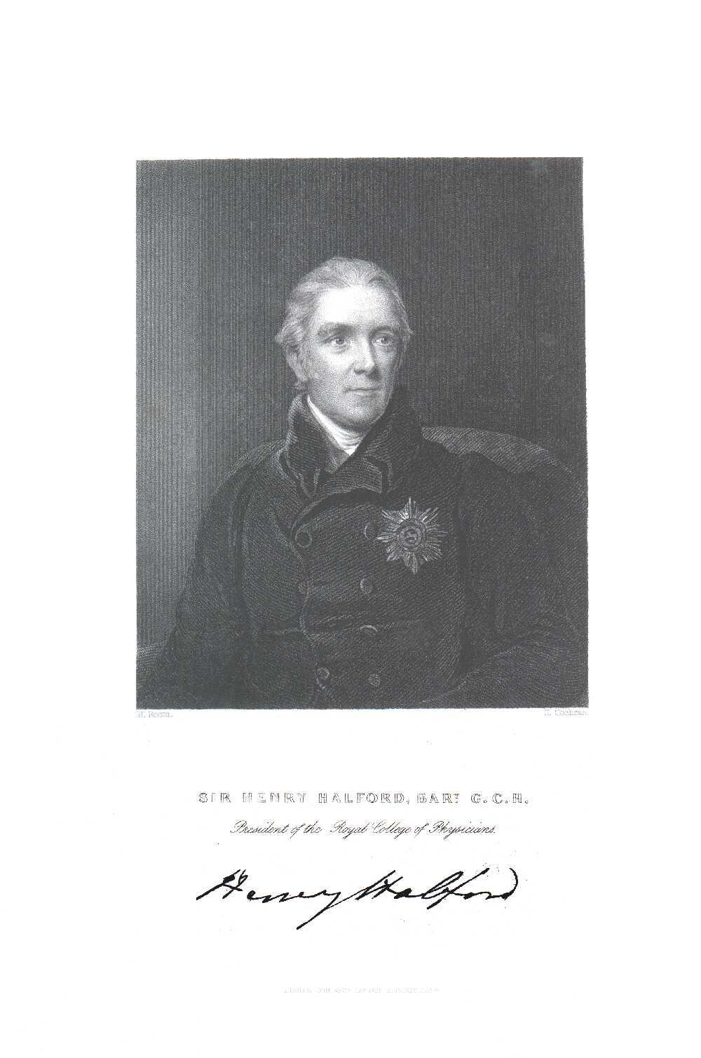 Portrait of Henry Halford,  Image number:SIL14-H002-03a