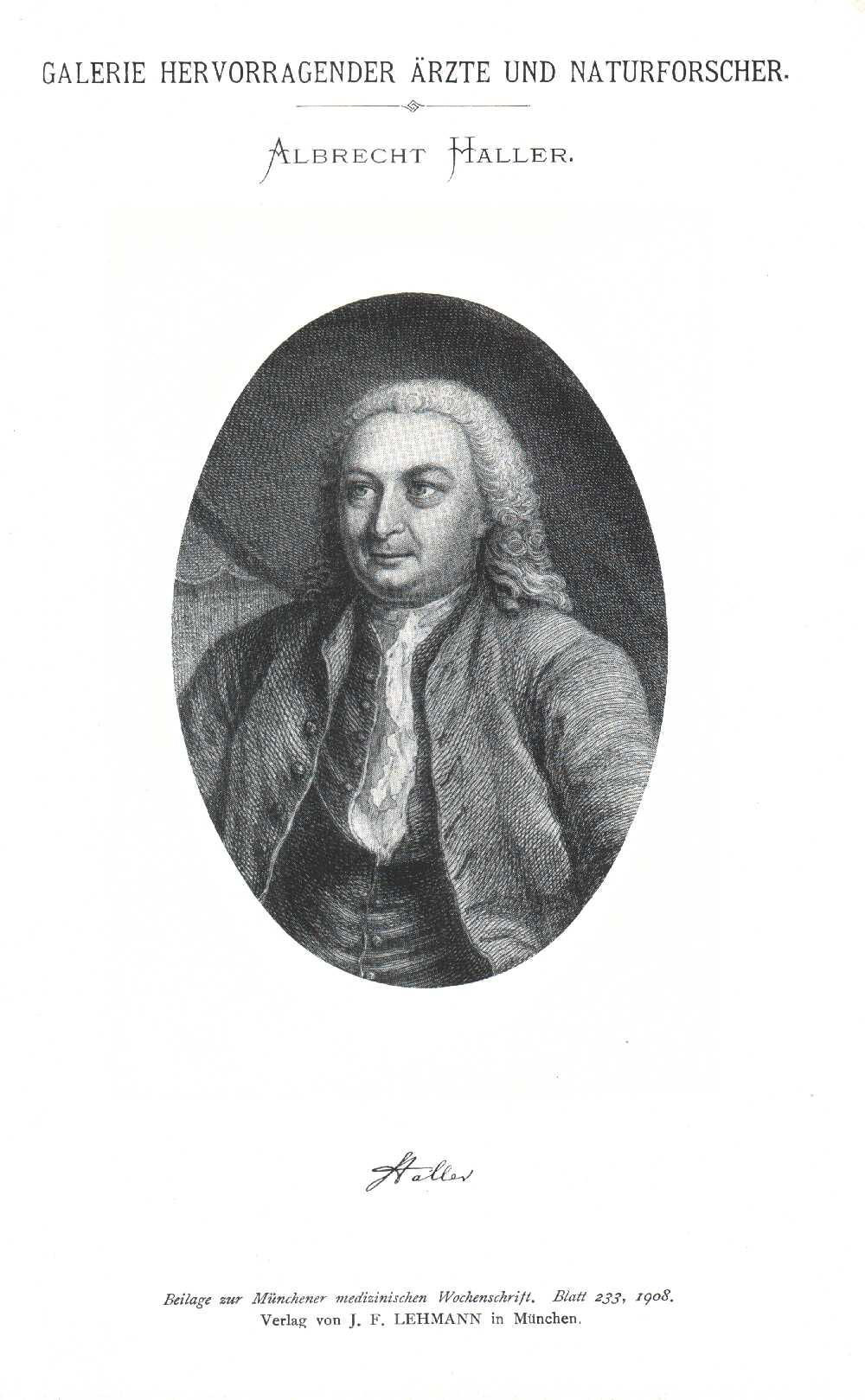 Portrait of Albrecht von Haller,  Image number:SIL14-H002-05a