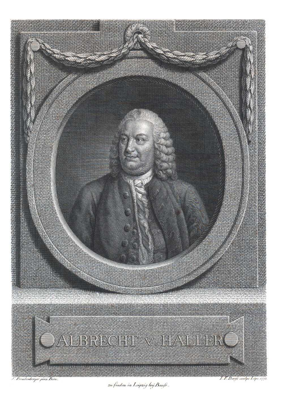 Portrait of Albrecht von Haller,  Image number:SIL14-H002-06a