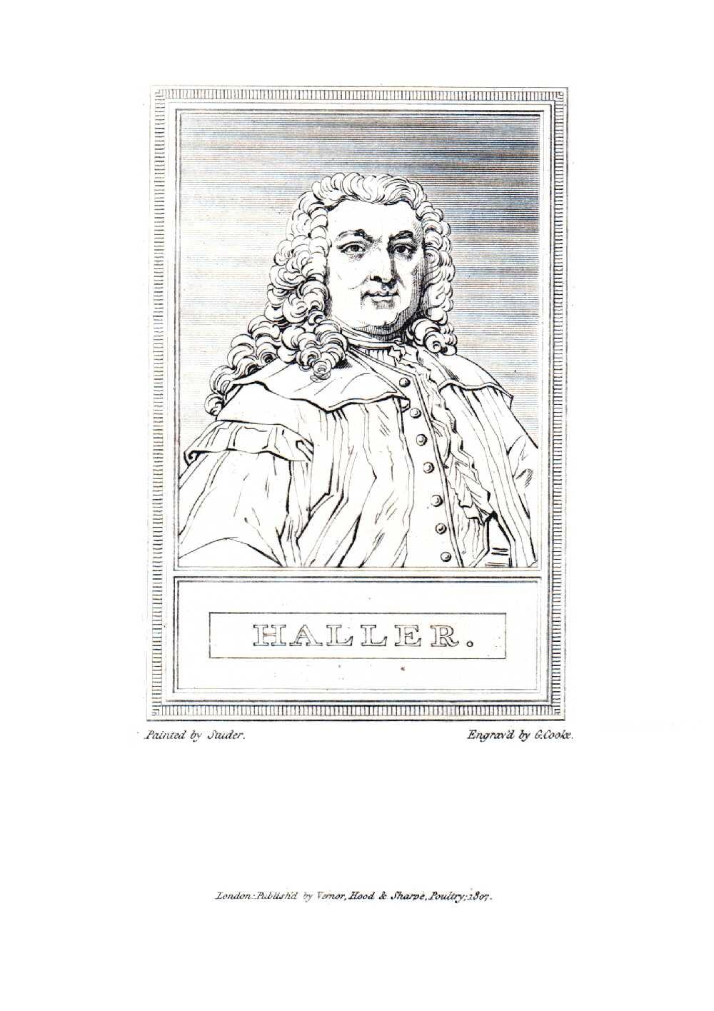 Portrait of Albrecht von Haller,  Image number:SIL14-H002-07a