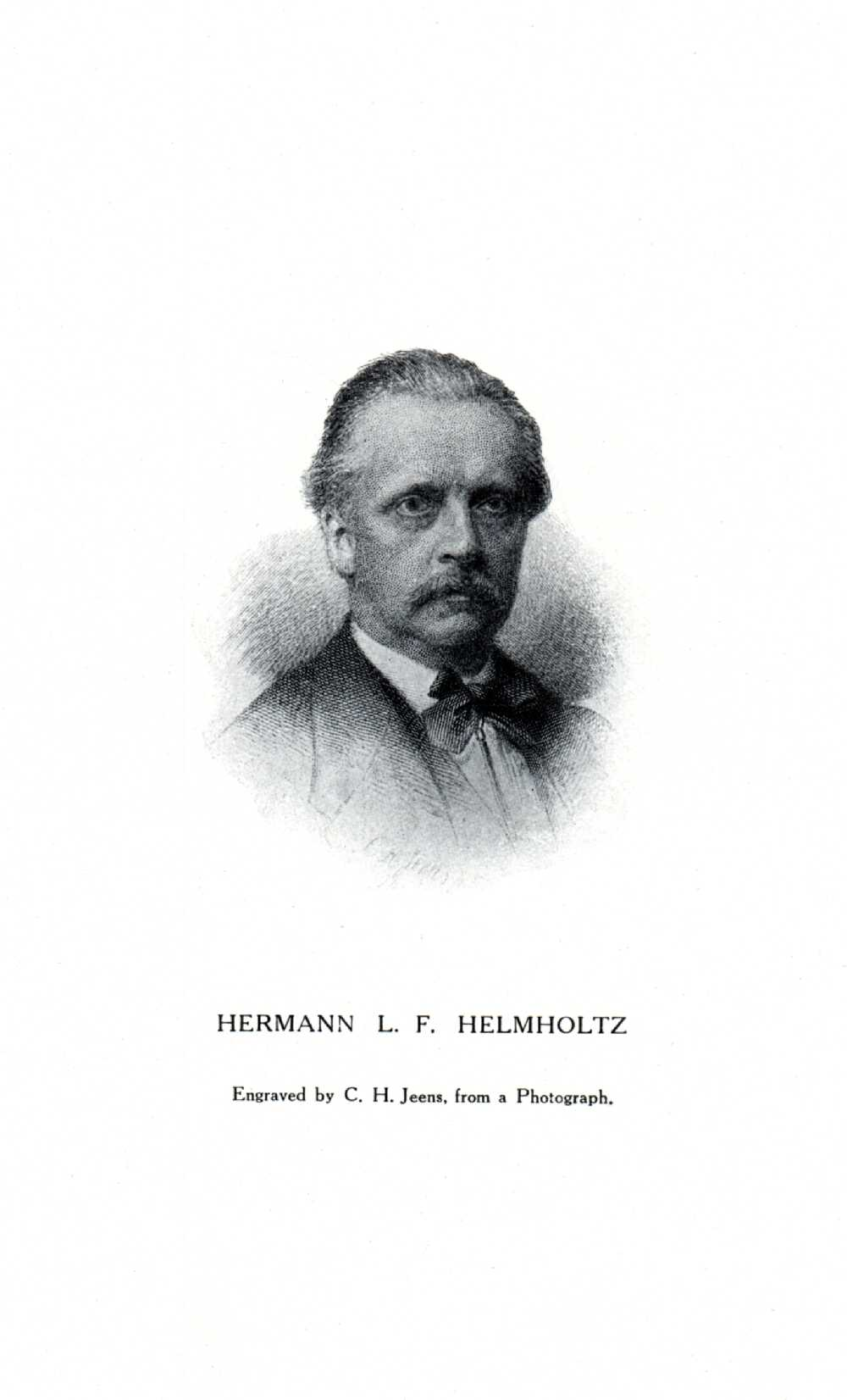 Portrait of Hermann von Helmholtz,  Image number:SIL14-H003-06a