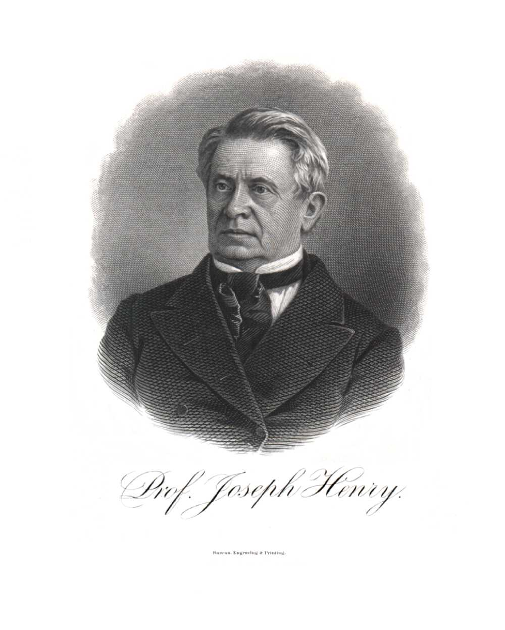Portrait of Joseph Henry