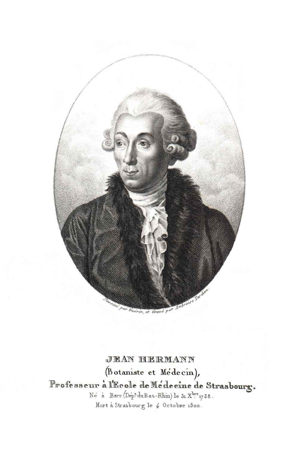 Portrait of Jean Hermann,  Image number:SIL14-H004-01a