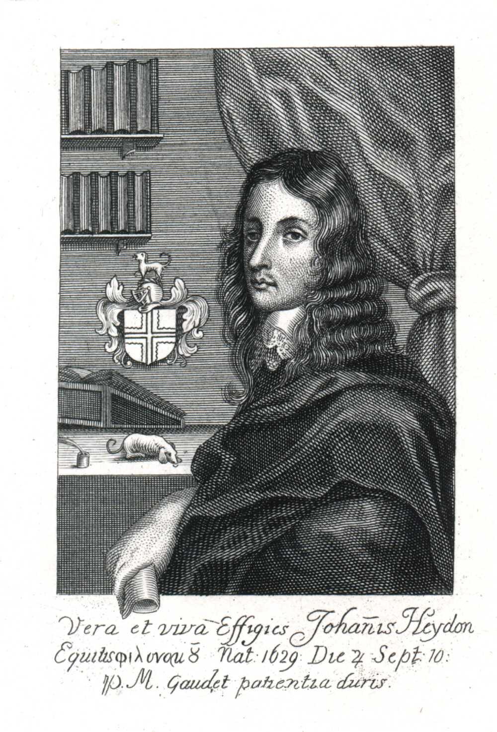 Portrait of John Heydon,  Image number:SIL14-H004-10a