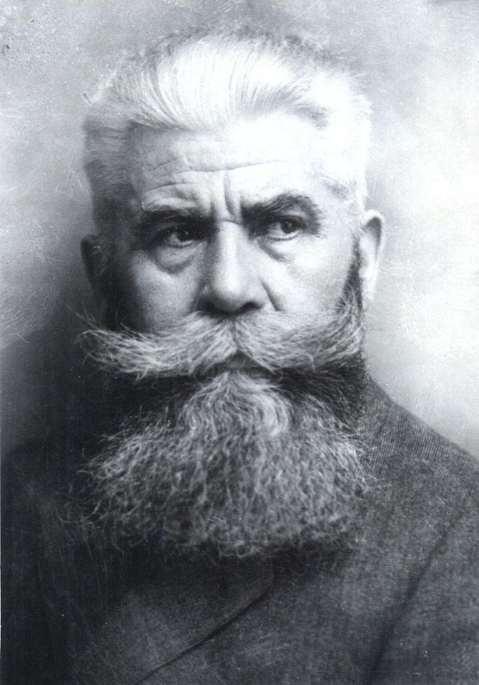 Portrait of Hanns Hoerbiger,  Image number:SIL14-H005-03a