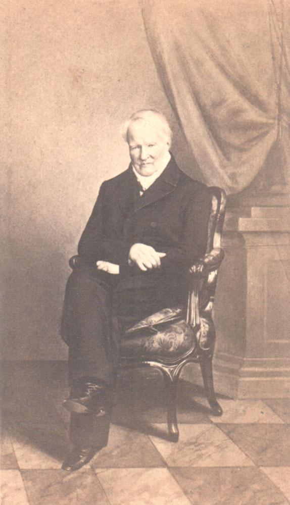 Portrait of Alexander von Humboldt,  Image number:SIL14-H006-08a