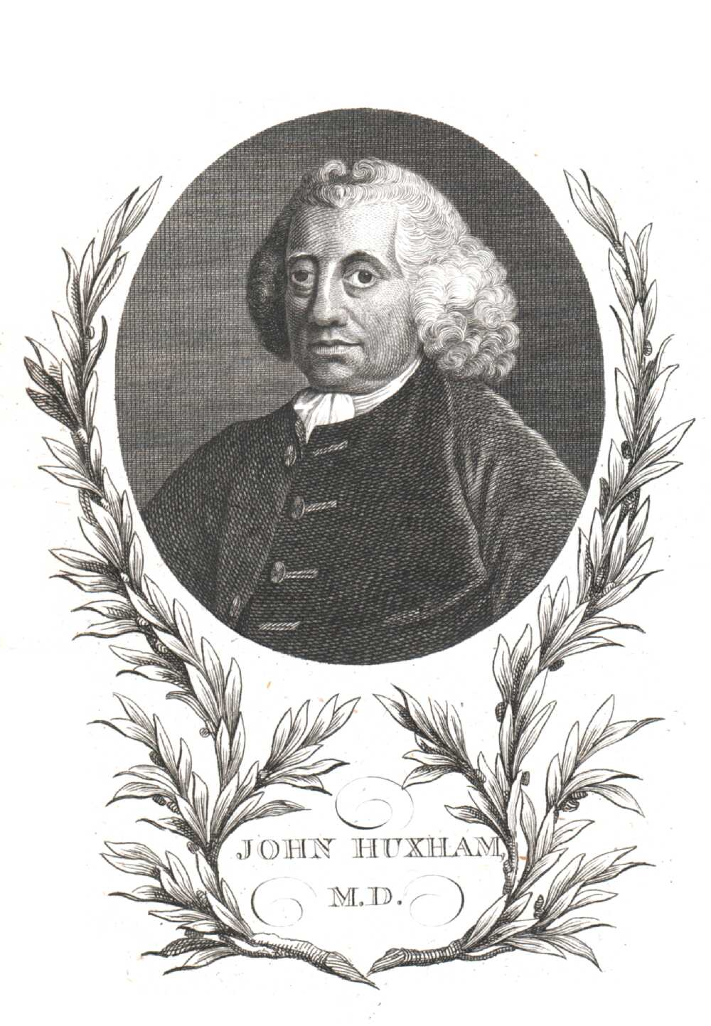 Portrait of John Huxham,  Image number:SIL14-H006-12a