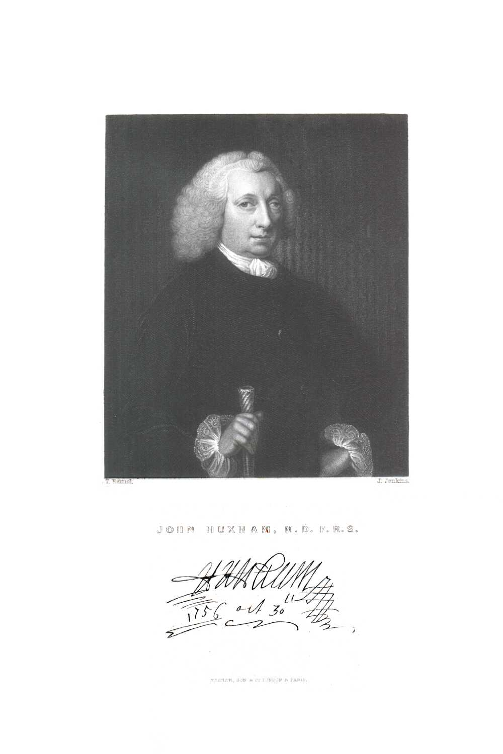 Portrait of John Huxham,  Image number:SIL14-H006-13a