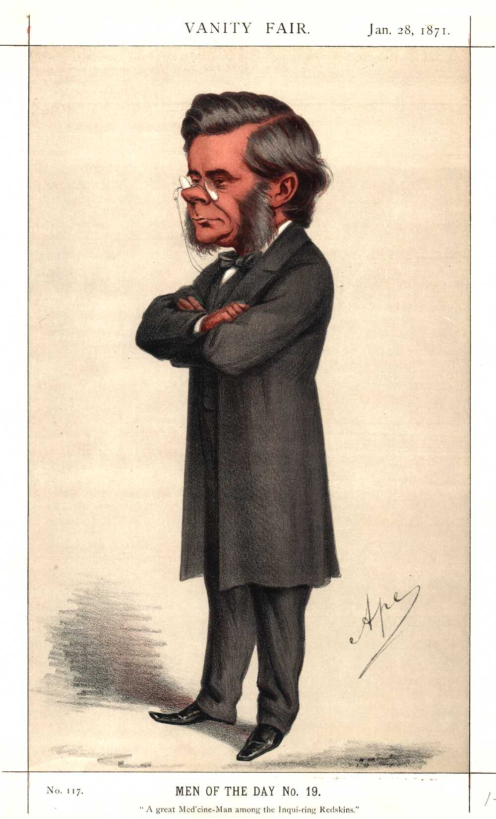 Portrait of Thomas Henry Huxley,  Image number:SIL14-H006-14a