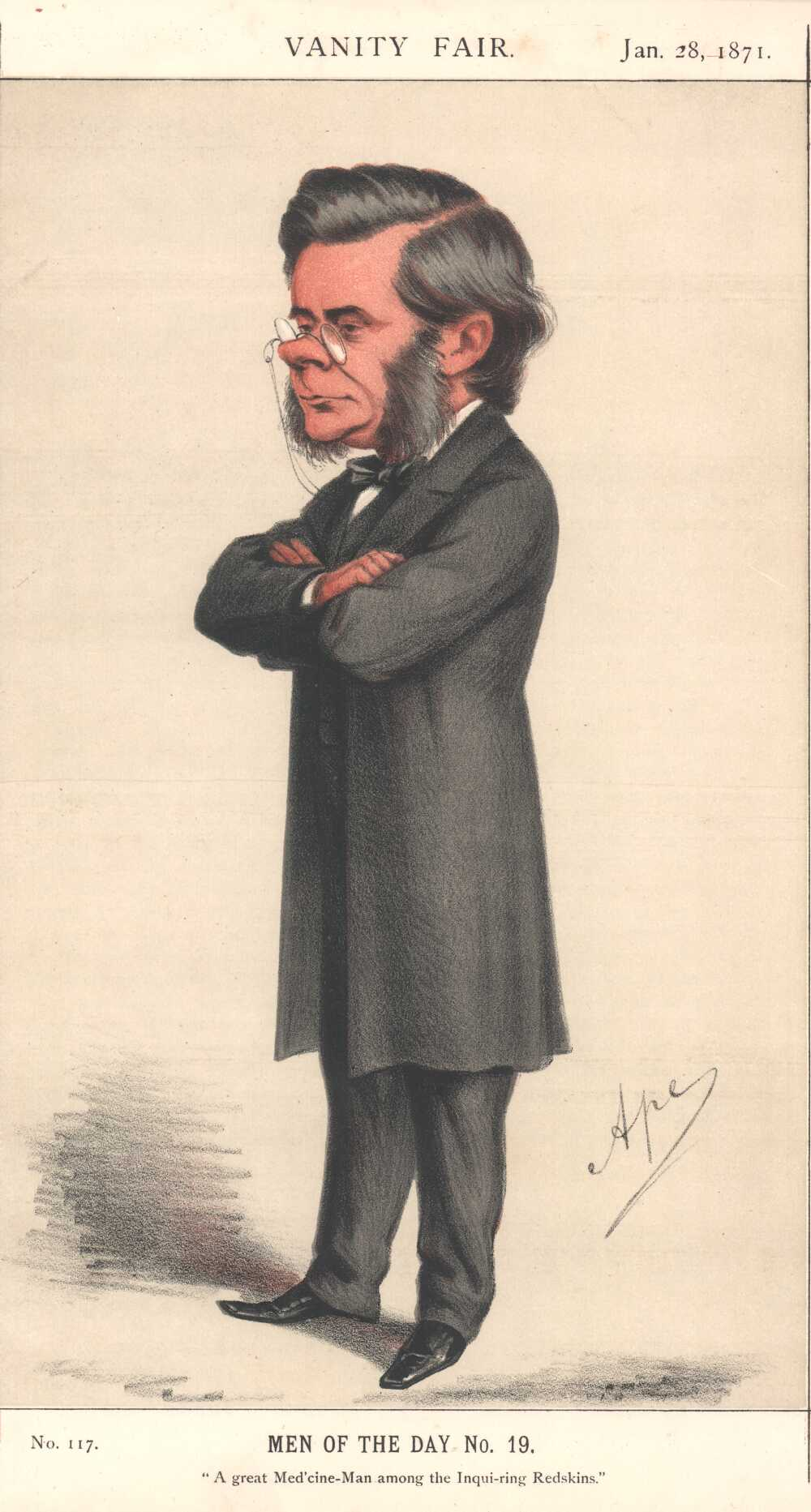 Portrait of Thomas Henry Huxley,  Image number:SIL14-H006-15a