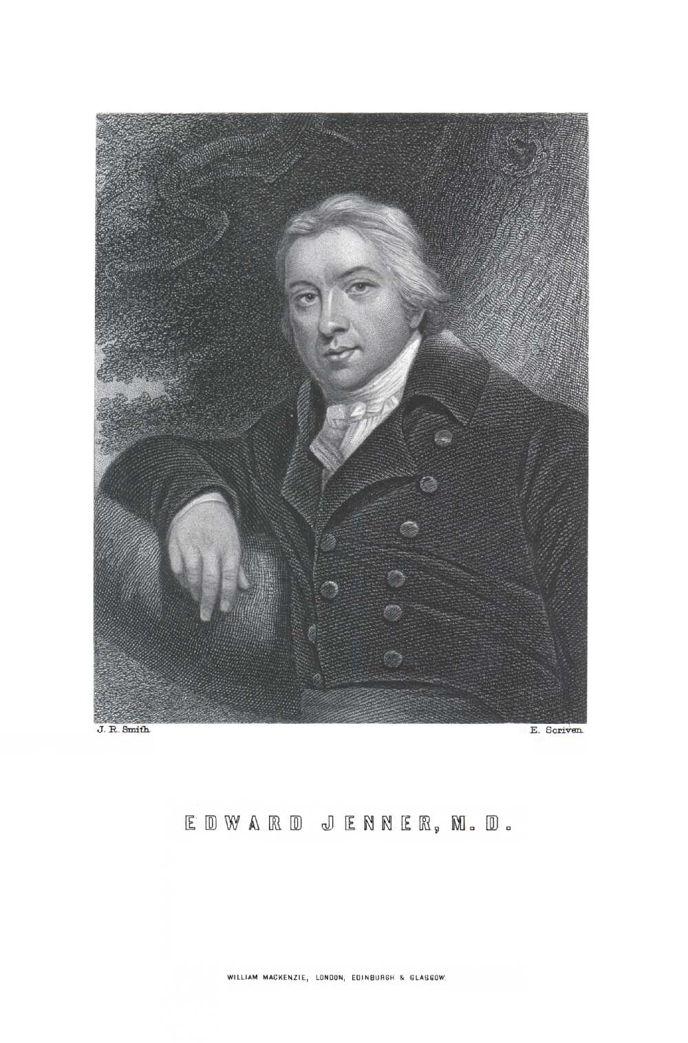 Portrait of Edward Jenner,  Image number:SIL14-J001-07a