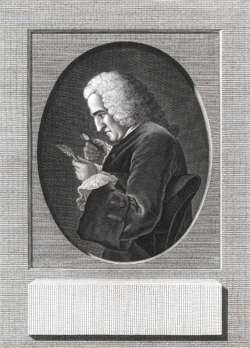 Portrait of Bernard de Jussieu,  Image number:SIL14-J002-04a