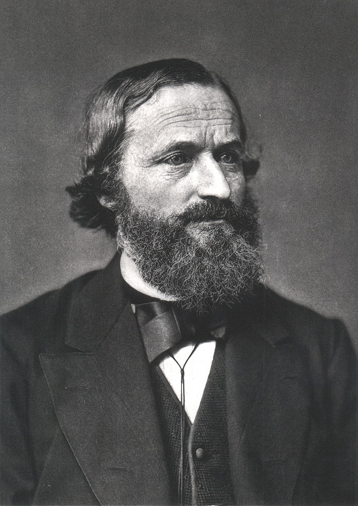 Portrait of Gustav Kirchhoff,  Image number:SIL14-K002-03a