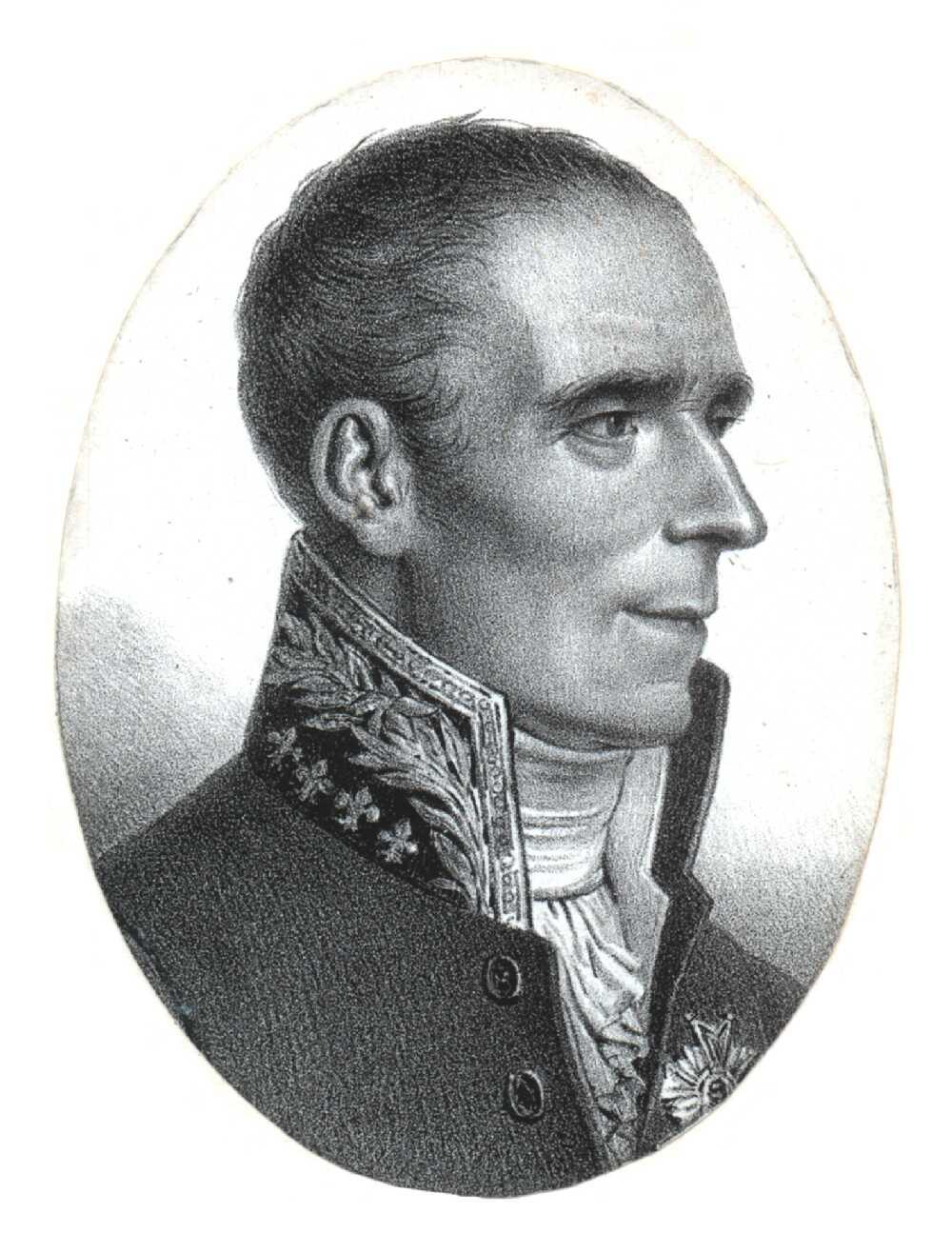 Portrait of Pierre Simon Laplace,  Image number:SIL14-L002-03a